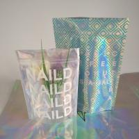 China Zip Lock Plastic Pouches Packaging / Holographic Mylar Plastic Bag Laser Printed on sale