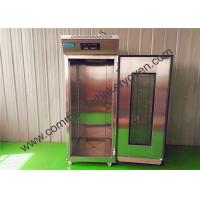 Quality SS Single Door Bread Dough Proofer Energy Saving Fast Cooling Effect for sale