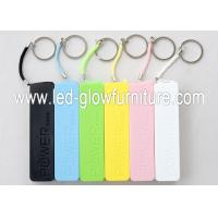 Quality White , Black Perfume 5200mah qi wireless charging power bank built in micro usb for sale