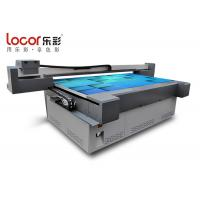 Quality Wide Format Flatbed Printer For Wood Board / Buckle Plate USB 2.0 Interface for sale