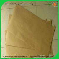 China BMPAPER kraft liner,kraft paper for wrapping,kraft liner paper korea  for cement bags on sale