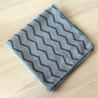 China 40x40cm Microfiber Weave Style Jacquard Pearl Cloth Auto Detailing Towel for sale