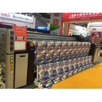 China 3 Epson Head Sublimation Digital Printing Machine For Fabric Continuous Ink Supply on sale