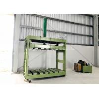 Zinc Coated Reno Gabion Mesh Press Machine / Gabion Mattress With Automatic Oil System for sale