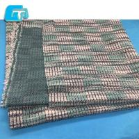 Quality Winter Fashion Women Fabric 59% Polyester 41% Cotton Knitted Fabric for sale