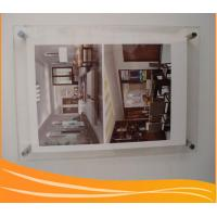 Quality Customize different size wall-mounted acrylic poster frame for sale