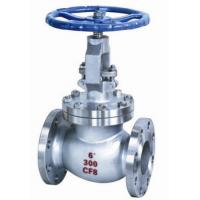 Quality Water Oil Stainless Steel Globe Valve 150 - 300lbs for regulating flow in a pipeline for sale