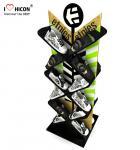 Quality Instore Marketing Custom Metal Display Racks Slippers Display Stand Shoes Displays for sale