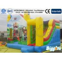 Quality Cars Theme Inflatable Combo For Birthday Party Rental Backyard Game for sale