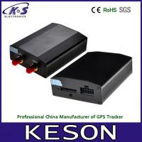 Quality Micro Fuel Car gps tracker device With Temperature / Speaker / Fuel Sensor for sale