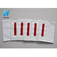 China Waterproof Packing List Enclosed Envelopes , Plastic Document enclosed pouches on sale