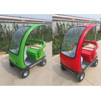 Quality Easy Operation Electric Sightseeing Car Optional Colors With Steering Wheel for sale