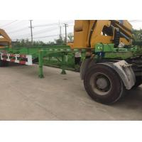 Quality Side Lifter 3 Axles Truck Mounted Crane 20ft 40ft FUWA Brand Tri Axle for sale