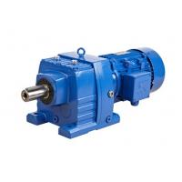 China Foot / Flange Mounted Helical Gearbox R/RF Series With Motor Cast Iron For Mixing on sale