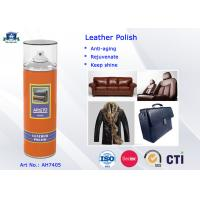 Quality 400ml Safe Household Cleaners Leather Polish with Penetrate Ability and Weather Resistance for sale