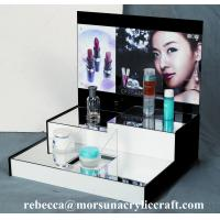 China High grade table top acrylic cosmetic display stand on sale