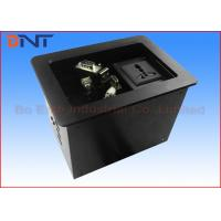 Quality Commercial Compact Table Cable Cubby , Slip Up Conference Table Connectivity Box for sale