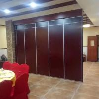 Quality Dance Studio Office Soundproof Movable Mirror Wall Partition MDF Melamine Surface for sale