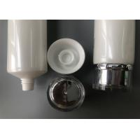 Quality Silver Hot Stamping Cream Tube Packaging / 5 Layer Plastic Tube Bottles Foil Seal for sale