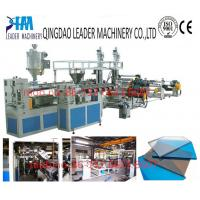 Quality 2100mm width uv resistance PC polycarbonate solid sheet production line for sale