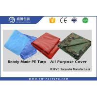 Buy cheap Heavy Duty Waterproof Tarpaulin Sheet High Density Polyethylene For Truck Cover from wholesalers