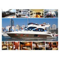 Quality Gel Coat Or Paint Fiberglass Fishing Boats High Intensity And Tenacity for sale