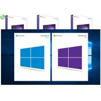 Quality OEM Software Microsoft Windows 10 Pro Pack 64 Bit Retail Box Genuine Key for sale