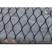 Quality Black Color Anodized Wire Cable Mesh With Ferrule | China ISO certificated Company for sale