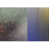 Quality Prismatic Embossed Patterned Extruded Acrylic Sheet , Lightweight And Fabricated for sale