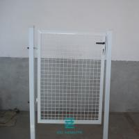 China Residential Square Security Modern Garden Gate Wire Mesh Fence White Color on sale