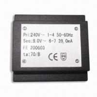 Quality 230V AC Encapsulated Transformer with PCB Mount, EE, EI Cores for sale