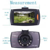 China Wide View Angle HD DVR Car Video Recorder PAL  /  NTSC System on sale