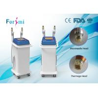 Quality 5MHZ Fractional RF Microneedle Machine with thermagic RF needle and microneedles for sale