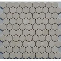 Wood White Marble Mosaic,Beige Marble Mosaic,White Marble Mosaic ,White Marble Mosaic