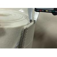 Natural White Flatwork Ironer Belts 2mm Thickness Heat Resistant Stable Size