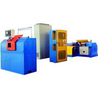Quality Flux Cored Wires Winding Machine , Wire Coiling MachineMotor Drive Payoff for sale