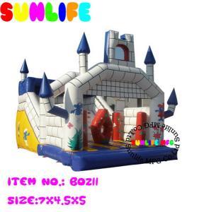 Quality Amusement Park Jumping Castle Inflatable Bouncy Slide For Children for sale
