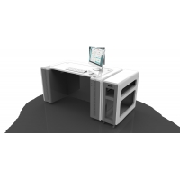 China Isolation 220V 162 M³ 50HZ Doctor Consultation Table on sale