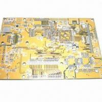 Quality Brown Solder Mask Quick-turn PCB with Immersion NiAu Surface finish for sale