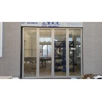 Quality Moving Glass Partition Wall Interior Glass Door For Home Banquet Hall for sale