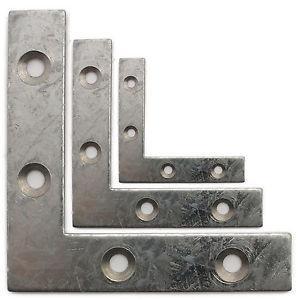 Polished Small Metal Angle Brackets Auto Use Anti Corrosion 0.15mm Thickness