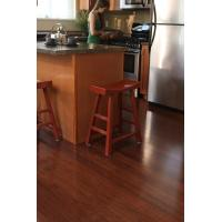 Quality Click HDF 8mm Bamboo Laminate Flooring for sale