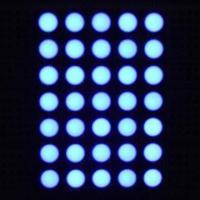 Quality G-Sic Blue/Green Dot Matrix LED, OEM Orders Welcome for sale
