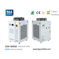 Quality S&A industrial compressor refrigeration chiller CW-6100 factory for sale
