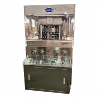 Quality Two Layer Rotary Tablet Compression Machine With Forced Feeder for sale