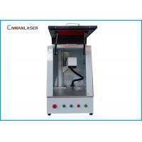 Quality Enclosure Steel Eyeglass Laser Engraving Marking Machine With EZCAD Software for sale