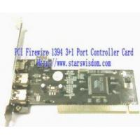 Quality PCI IEEE1394 Card 3+1 Ports -VT6306/7/8 for sale