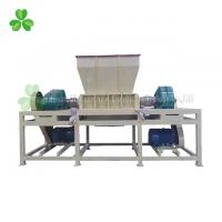 Quality Plastic Bottles Double Shaft Shredder Machine With 26PCS Knives High Output for sale