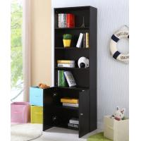 Buy cheap Display Black Home Office Storage Cabinets With Doors And Shelves from Wholesalers