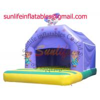 Quality inflatable 0.55mm pvc tarpaulin jumping castle BO037 for sale
